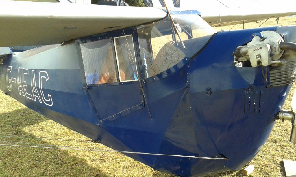 Aeronca C3 Restored