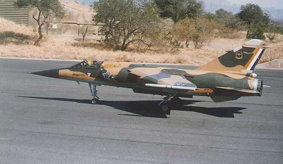 Mirage F1CZ 3 Squadron SAAF